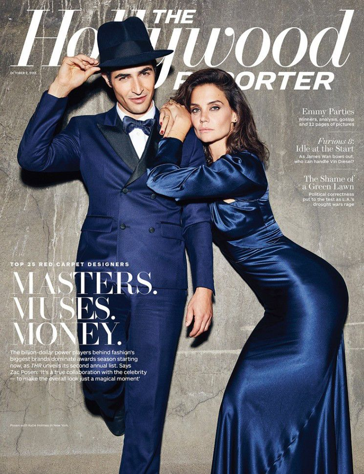 Miller Mobley Photographs Zac Posen With Katie Holmes And