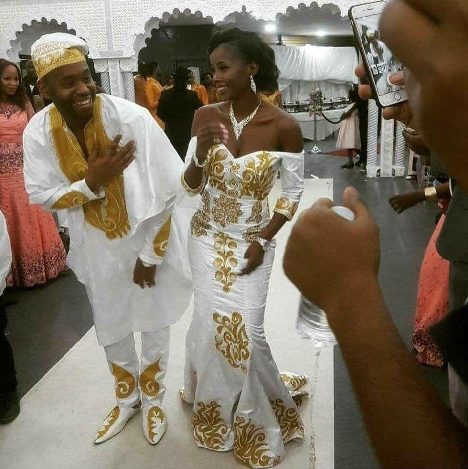 Mariage | Robes de mariée africaine, Robe