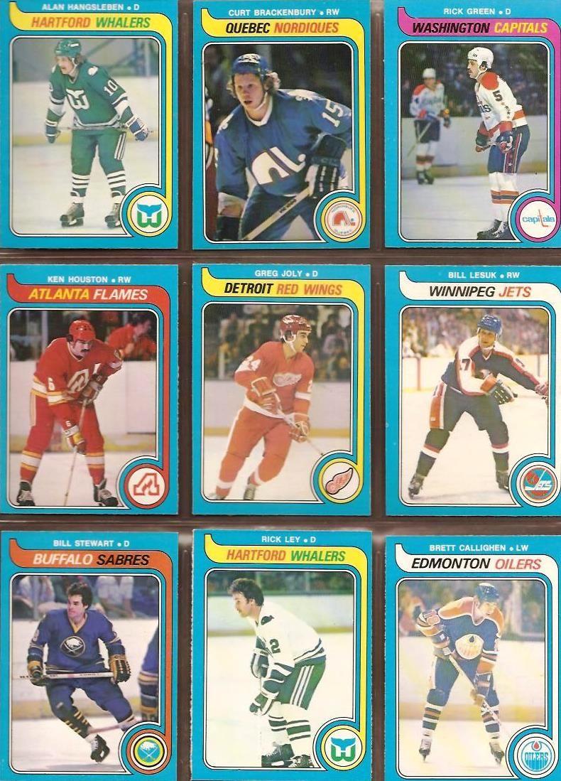 307-315 Alan Hangsleben, Curt Brackenbury, Rick Green, Ken Houston, Greg Joly, Bill Lesuk, Bill Stewart, Rick Ley, Brett Callighen