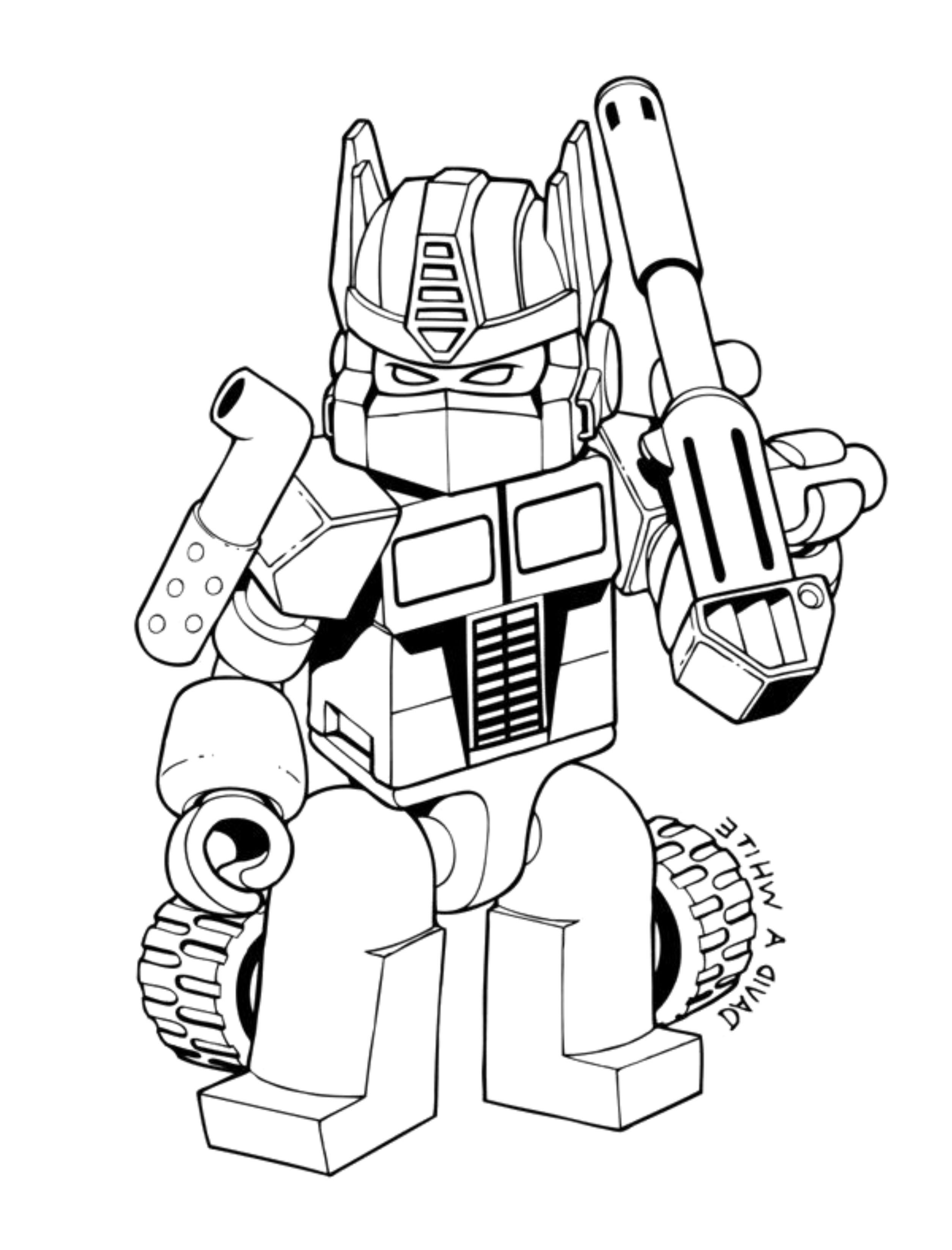 10 Transformer Colouring Lego Coloring Pages Transformers Coloring Pages Coloring Pages For Boys