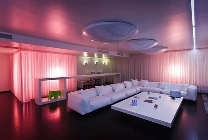 Sweet Purple Living Room Pink Living Room