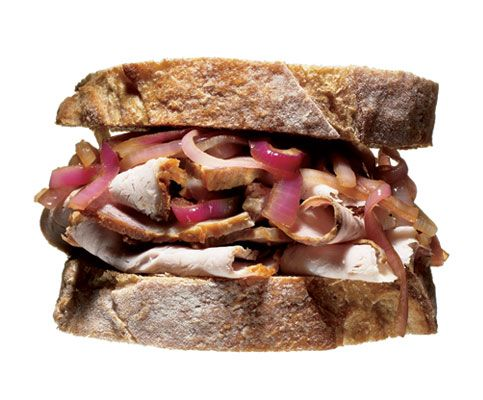 This is from Men's Health - 25 Gourmet Sandwiches for Guys - my husband will love them ---but I'm guessing that chicks also dig these babies!!!