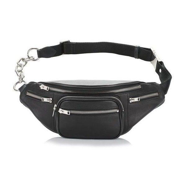 3f62d2478a36 ALEXANDER WANG Attica Washed Leather Belt Bag ($495) ❤ liked on ...