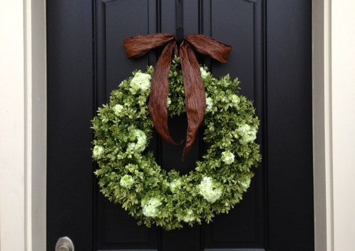 SUPER SALE on NOW Large Boxwood Wreaths Spring by twoinspireyou