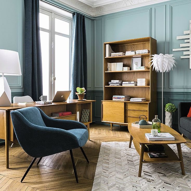 deco trendy a t e l i e r salon bureau tendance vintage maisons du monde 2016 portobello. Black Bedroom Furniture Sets. Home Design Ideas