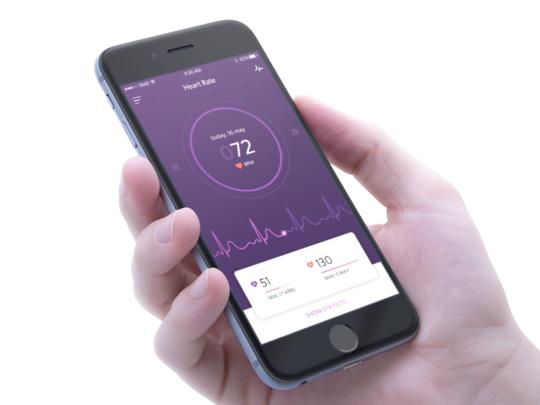 dribbblepopular Health tracker, Health tracker app