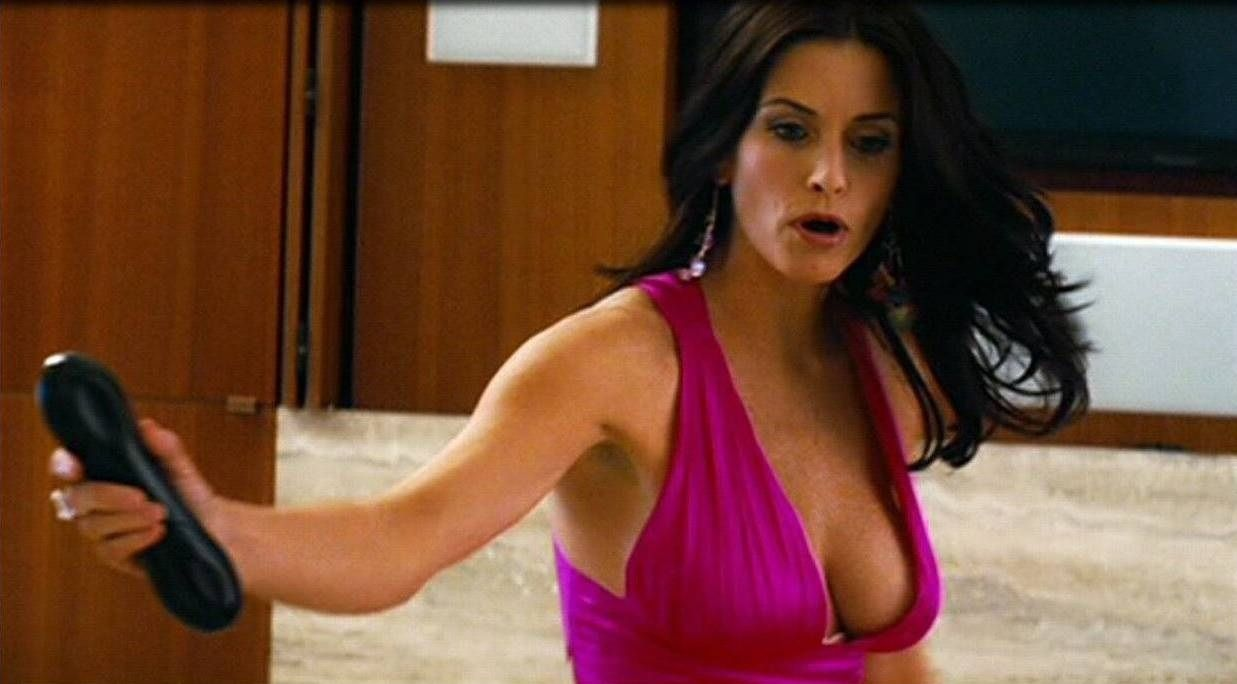 Courtney cox the longest yard
