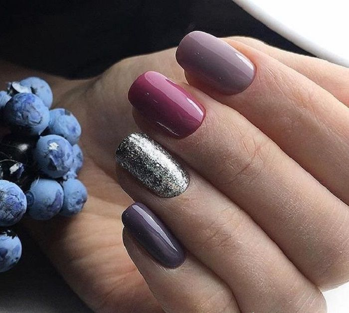 79 pretty mismatched nail art designs