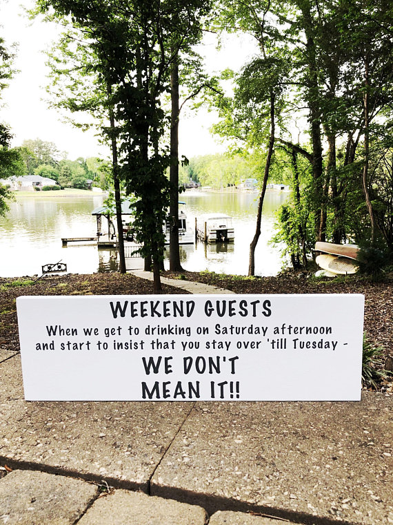 Guest Room Decor Guest Room Sign Funny Guest Room Sign Cabin Sign Lake House Sign Beach Sign Wooden Signs Wooden Decor Guest Room Sign Beach Signs Guest Room Decor