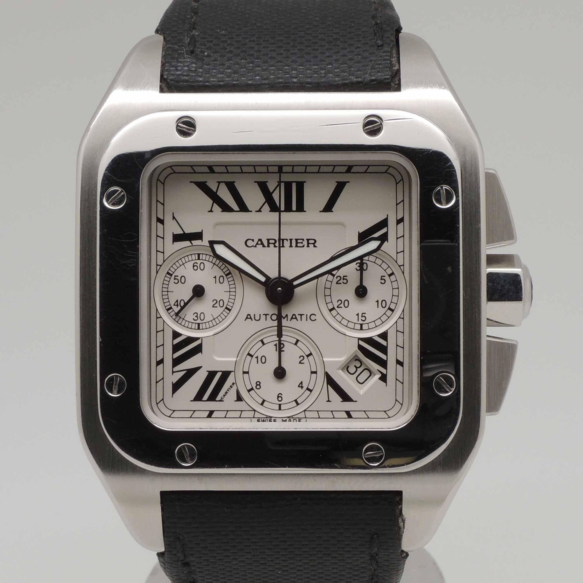Cartier Santos 100 Chrono (Ref. W20090X8)