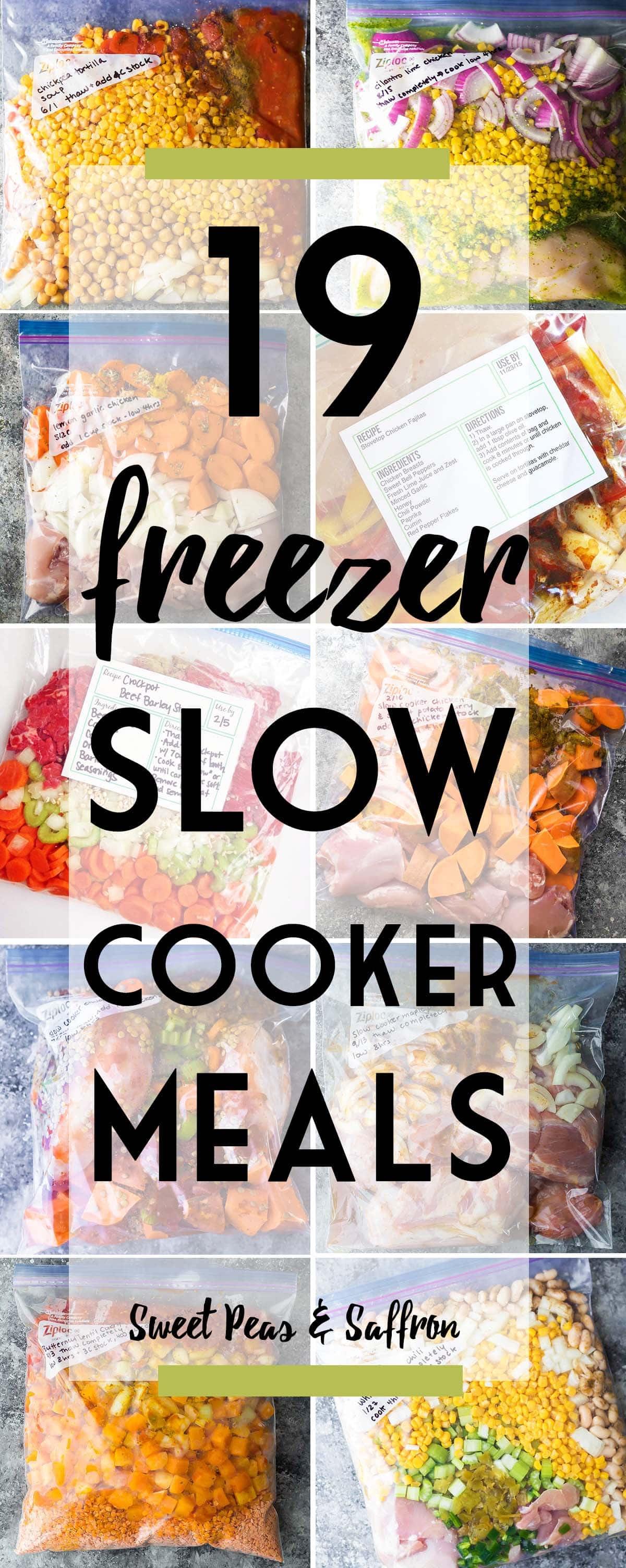 27 Healthy Crockpot Freezer Meals for Effortless Weeknights images