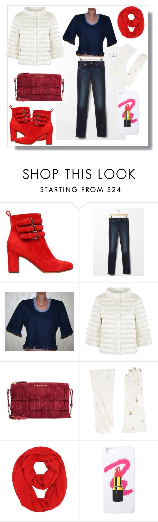 """Fashion Bureau"" by elena-kononenko ❤ liked on Polyvore featuring Tabitha Simmons, Gap, Weekend Max Mara, Burberry, Dsquared2, LAUREN MOSHI, women's clothing, women, female and woman"