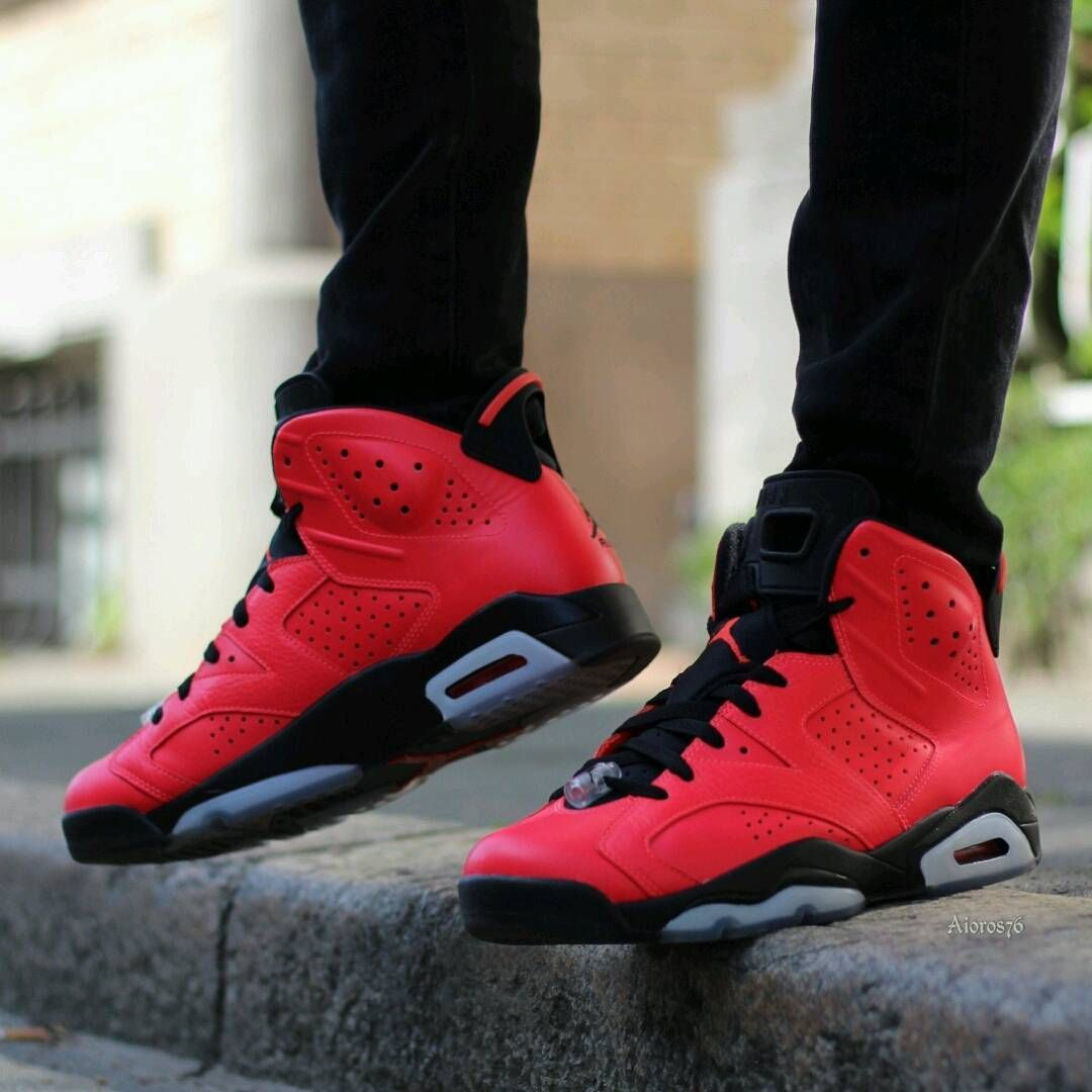 Air Jordan 6 Retro Infrared 23 Sneakers Men Fashion Hype Shoes Sneakers Fashion