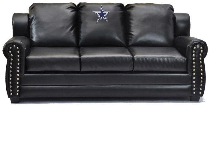 Dallas Cowboys Nfl Coach Leather Sofa Black Leather Sofas Leather Sofa Nfl Coaches