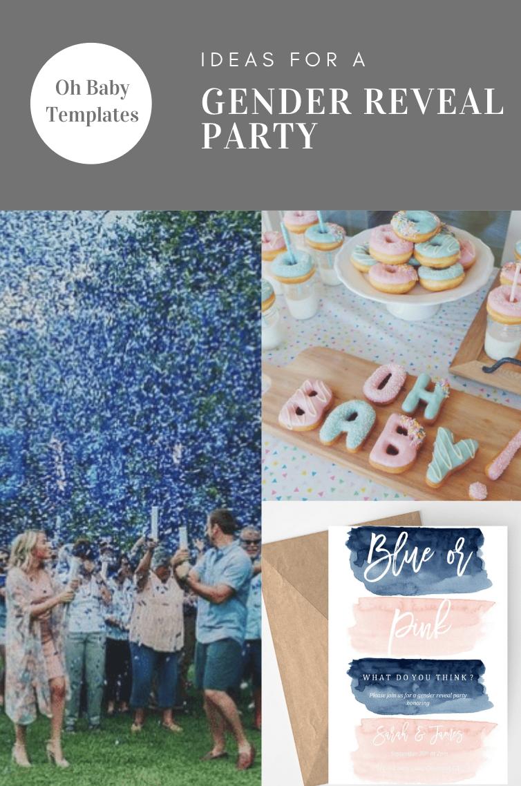 Gender Reveal Invite Blue Or Pink Twin Gender Reveal Gender Etsy Gender Reveal Invitations Gender Reveal Party Gender Reveal