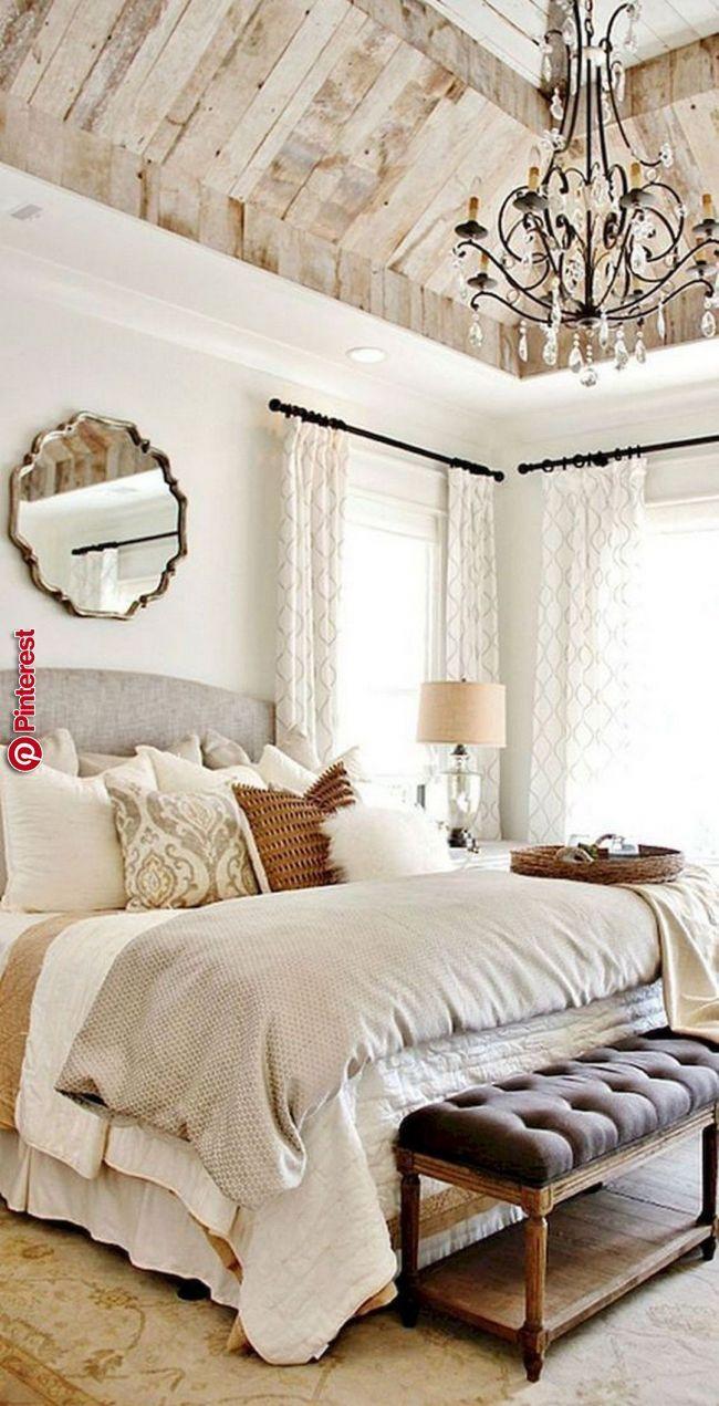Wie man schönes BauernhausBett in Ihrem Schlafzimmer