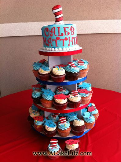 Baby S First Birthday Cupcakes Smash Cake Idea I Would Change