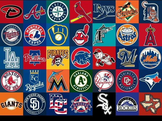 Baseball Leagues Some Of Names Etc Baseball Teams Logo Mlb Logos Mlb Teams