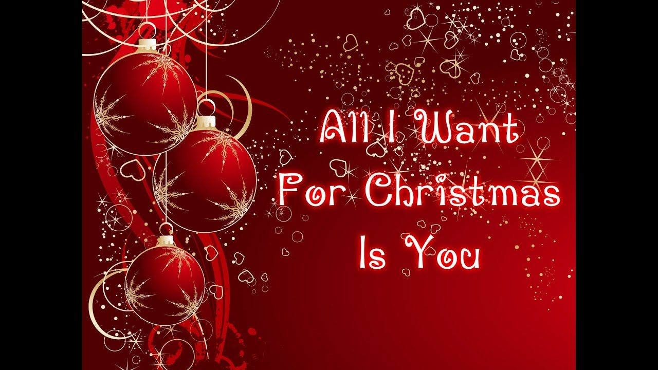 Mariah Carey All I Want For Christmas Is You Lyrics S Christmas Party Invitation Template Christmas Invitations Template Free Christmas Invitation Templates