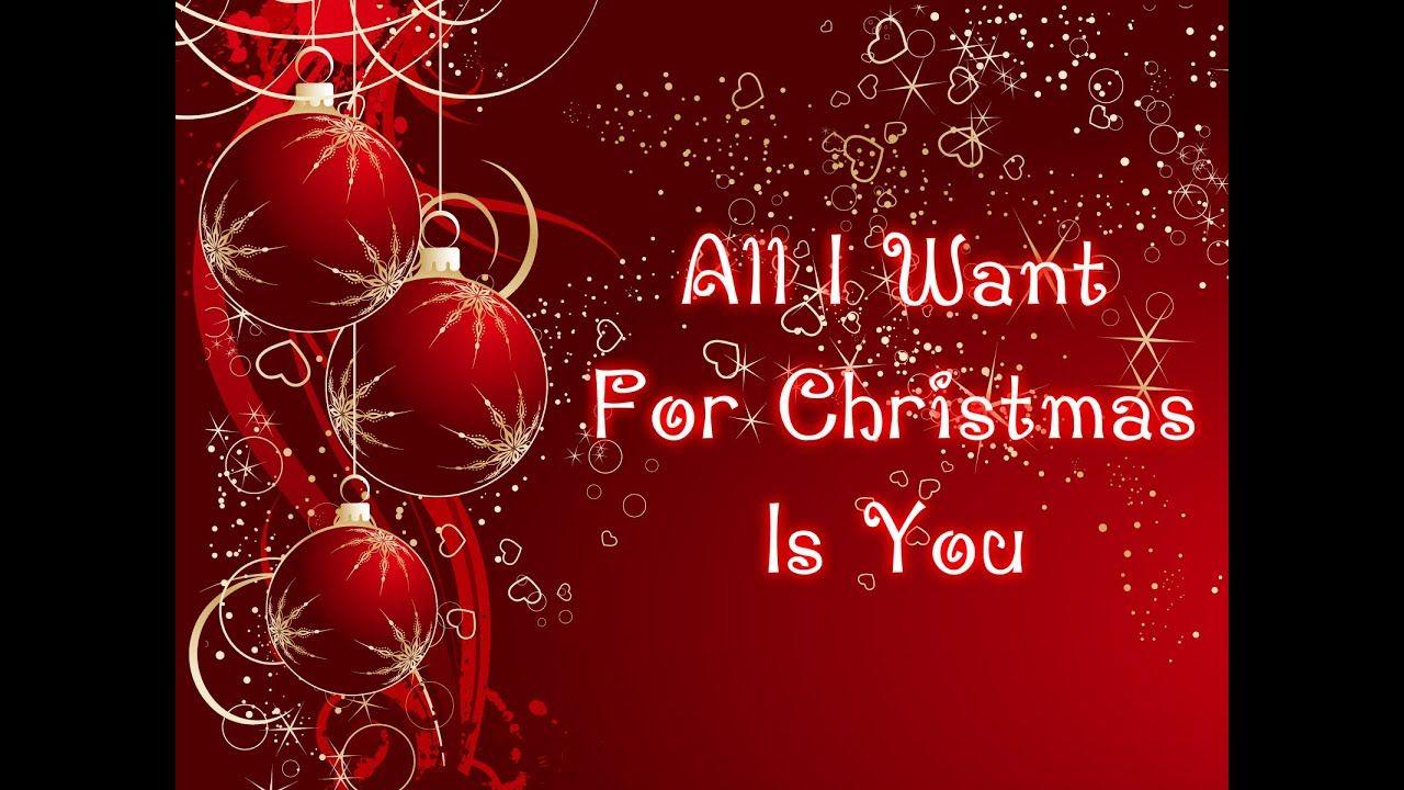 Mariah Carey All I Want For Christmas Is You (Lyrics