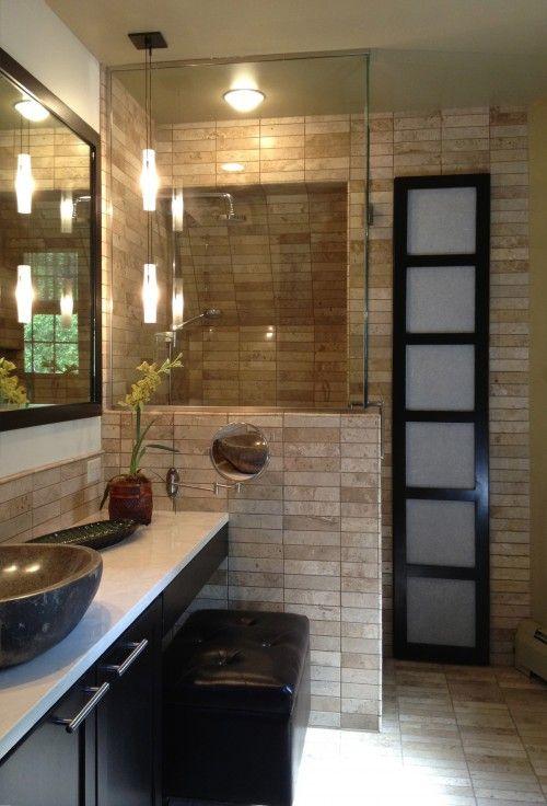 Zen Showers  Salle De Bain Asiatique  Zen Bathroom  Ides Pour La
