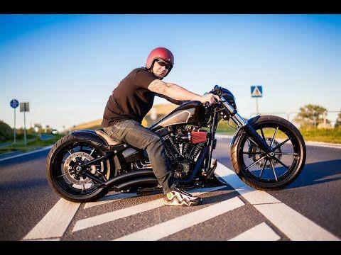 97033b219f43d Harley Davidson Breakout Custom DARKLINER ( Nine Hills Motorcycles ) -  YouTube