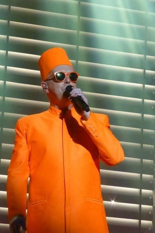 Neil Tennant Pet Shop Boys Fox Theatre Oakland Tara Lyn Pet
