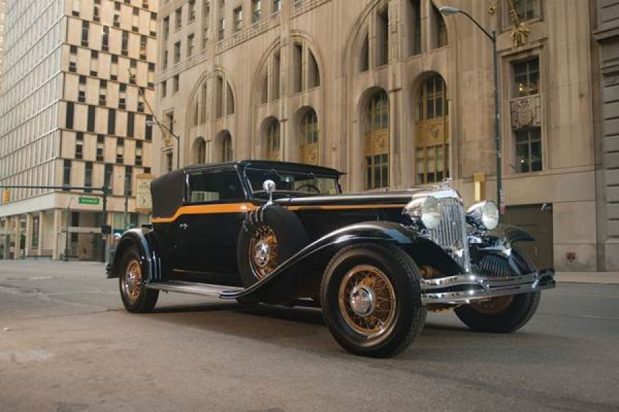 1931 Chrysler CG Imperial Convertible Victoria