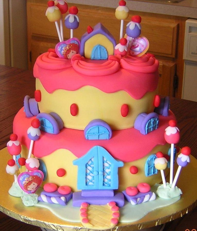 Little Girl Birthday Cakes My blog