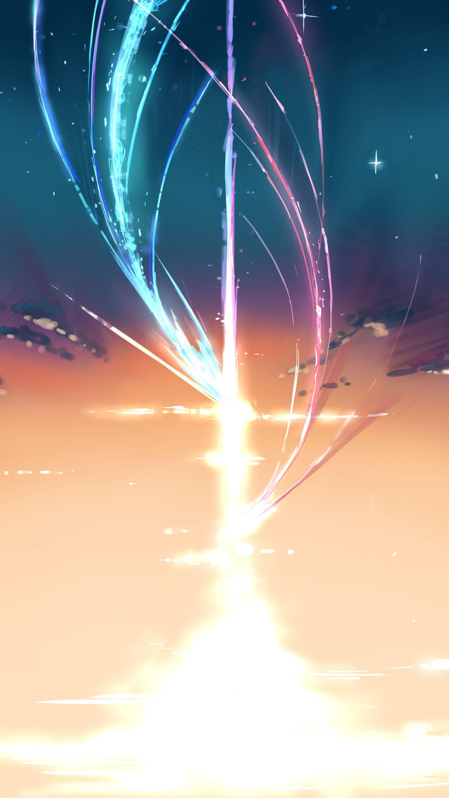 Pin Oleh Xenon Sobdiel Di Your Name Latar Belakang Pemandangan Pemandangan Anime