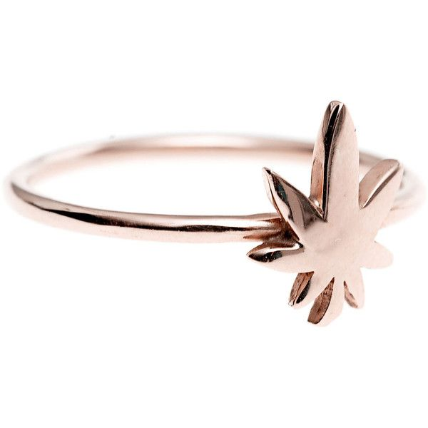 ART YOUTH SOCIETY Flower Power Rose Gold 14 k rose gold ring