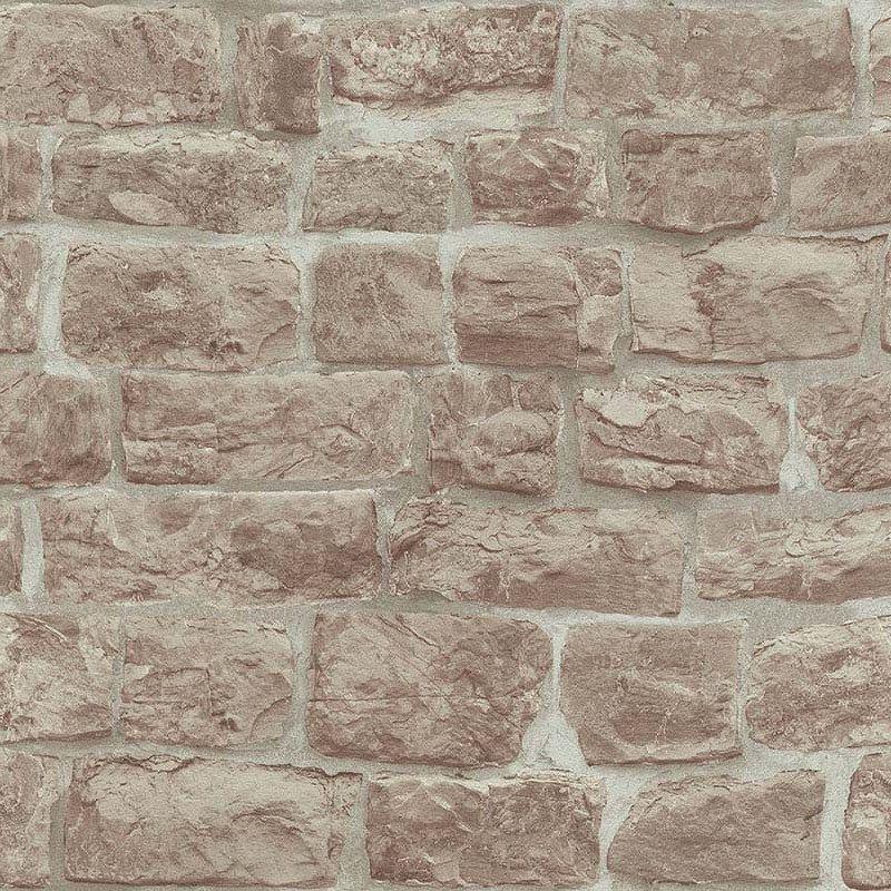 Lancashire Wallpaper Faux brick wallpaper, Stone