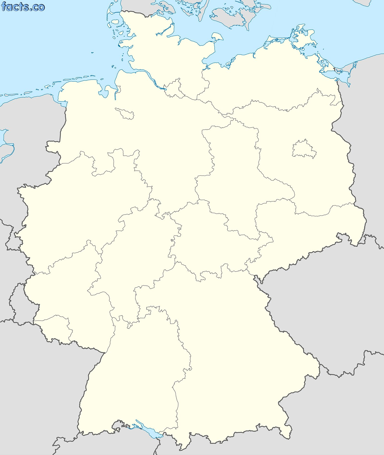 Berlin On Map Of Germany.Blank Physical Map Of Germany Germany Political Map Black And White