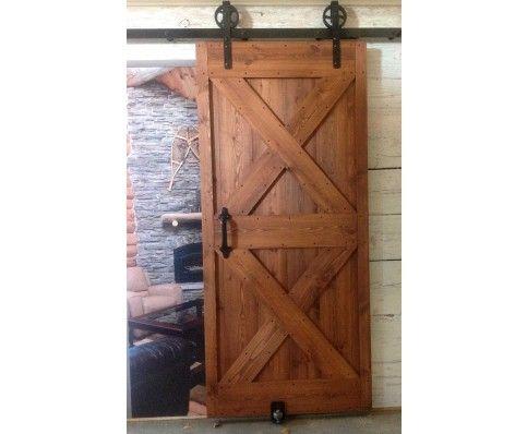 Barn Door 36 In X 80 In Unassembled Unfinished