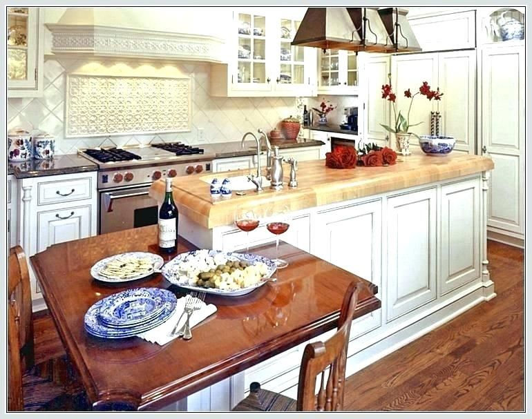 Google Image Result For Http Pajouhi Me Wp Content Uploads 2018 02 Kitchen Island With Table Attached Kitchen Isl Kitchen Kitchen Island Table Kitchen Island