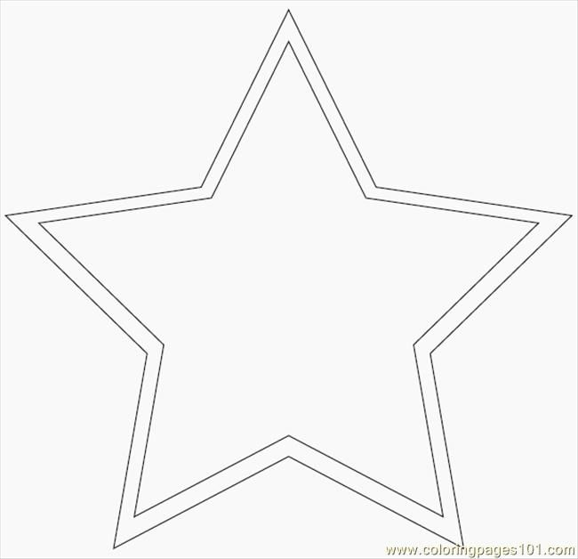 star stencils printable free printable coloring page Main Star - star template