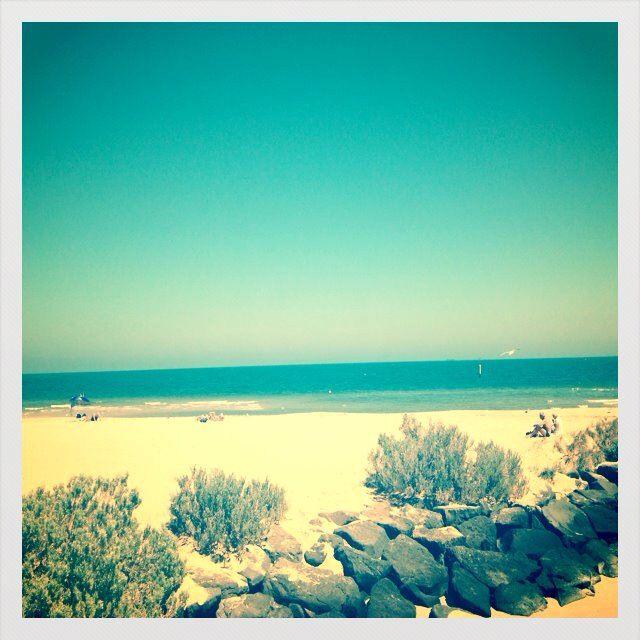 St Kilda beach :)