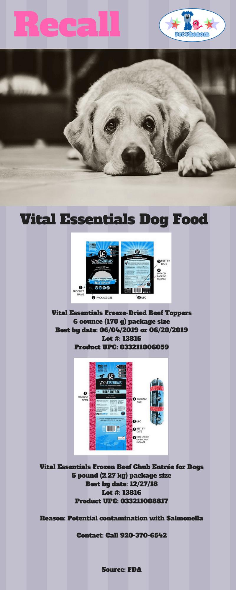 Vital Essentials Dog Food Recall Blog Pinterest Dog Food