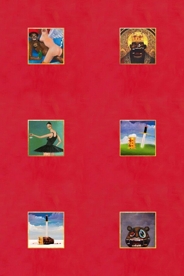 Pin By Olivia White On Music Kanye West Wallpaper Beautiful Dark Twisted Fantasy Rap Wallpaper