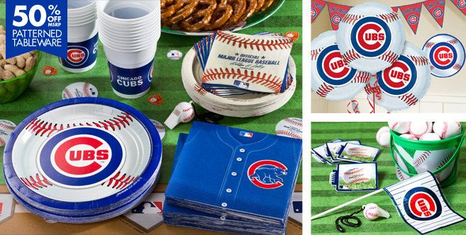 Chicago Cubs Party Supplies Party City There Are