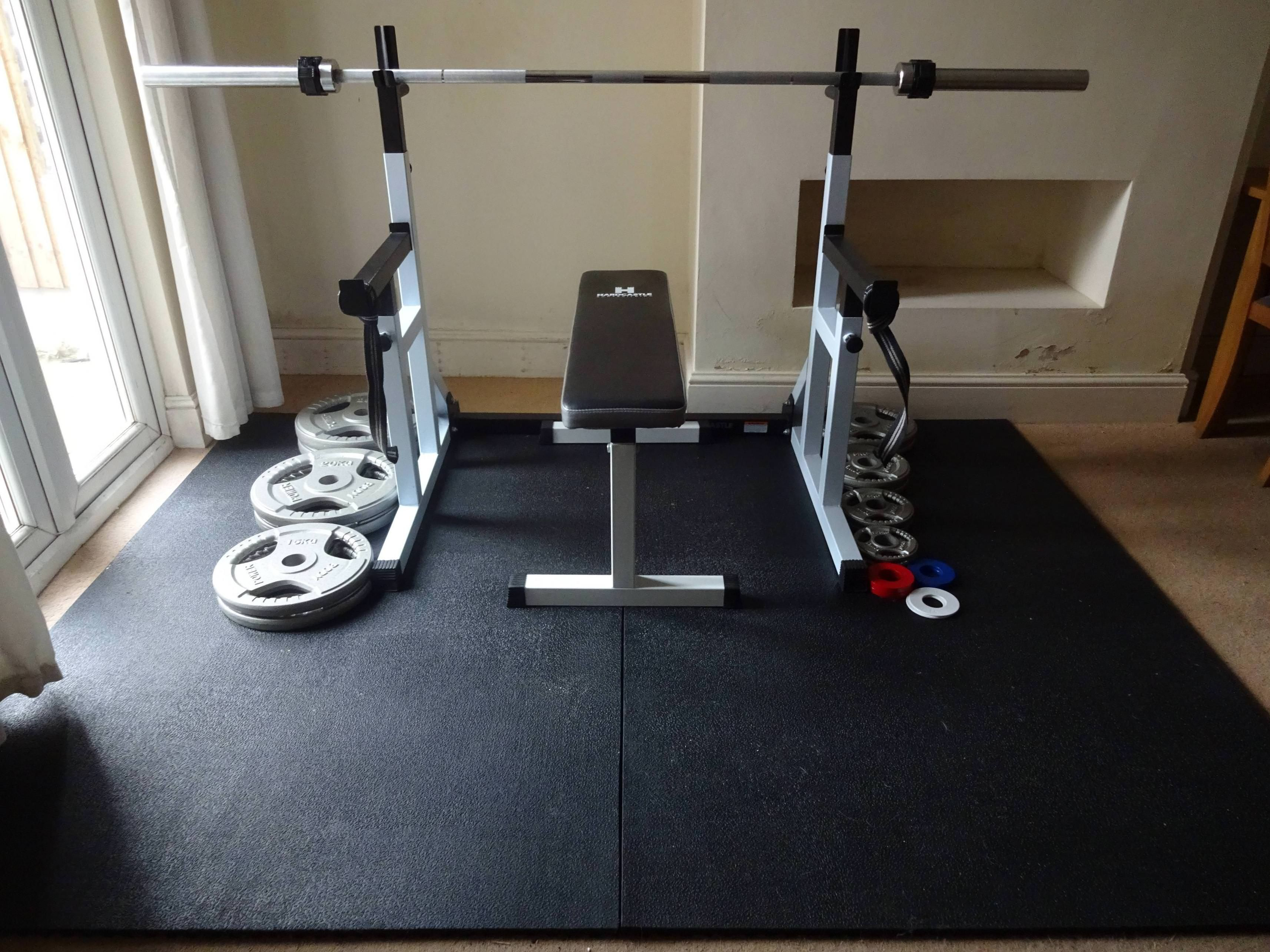 Successful dining room takeover home gym fitness motivation