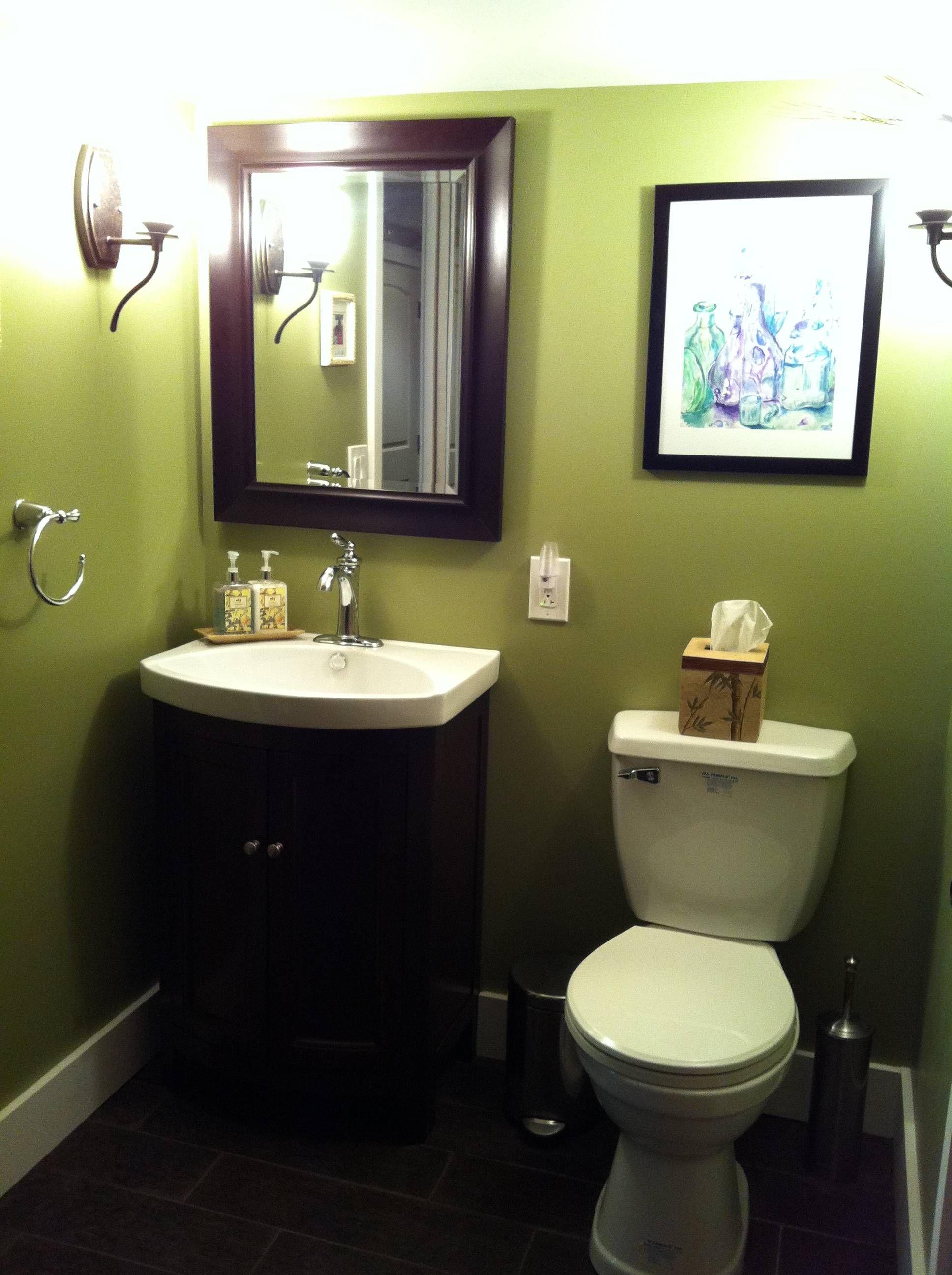 Powder room | Bathroom remodel ideas | Pinterest
