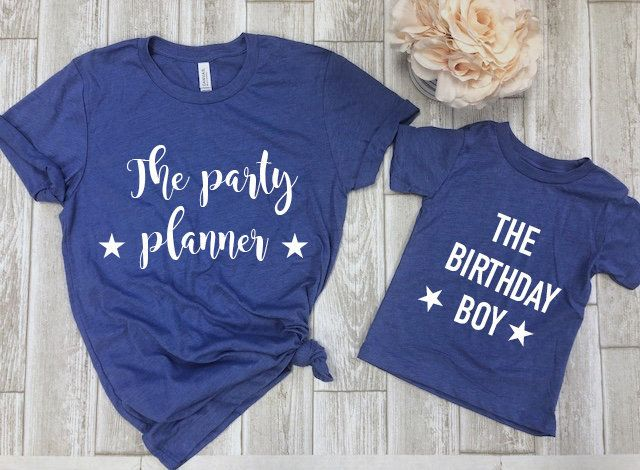 Mommy And Me Birthday Shirts