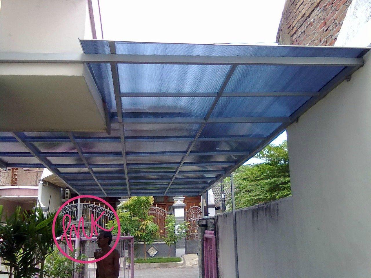 kanopi baja galvanis harga 250 000 per m2 besi anti karat ukuran 4x4