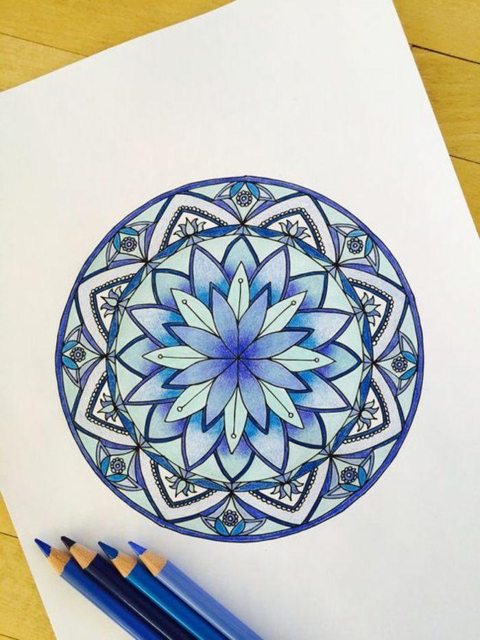 Mandalas Faciles De Hacer A Mano A Color