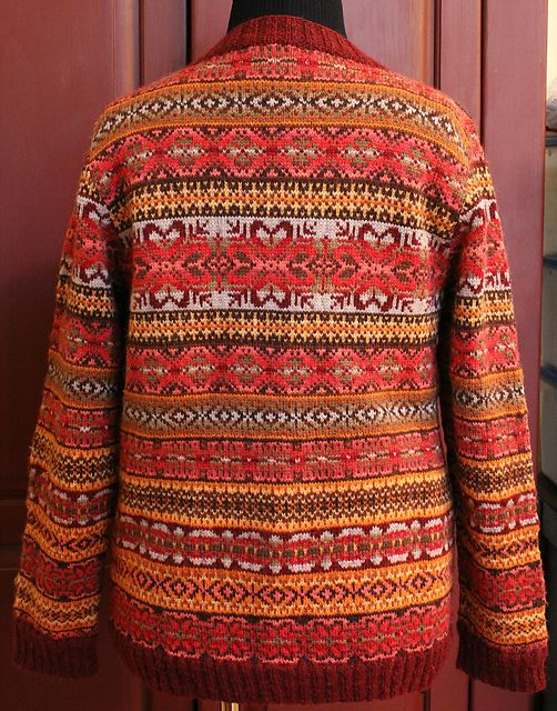 Ravelry: pholling\'s The Sweater | JACKARD TRICOT | Pinterest ...