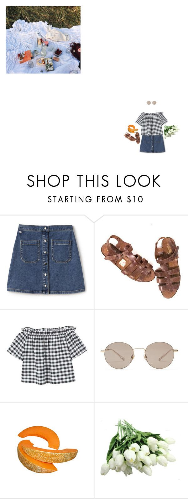 """Lucky Girl // Fazerdaze"" by savy321 ❤ liked on Polyvore featuring Lacoste L!VE, MANGO and Gucci"