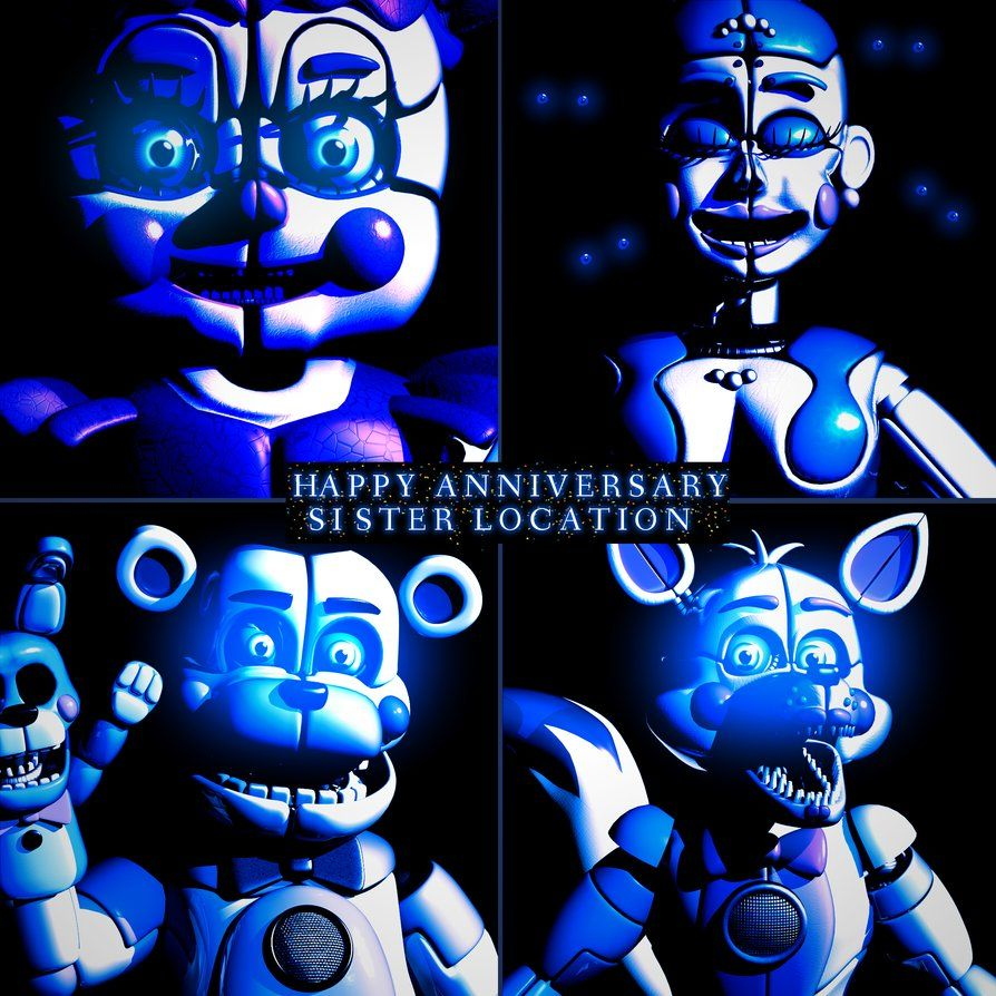 Happy Anniversary Sister Location - [Blender] by