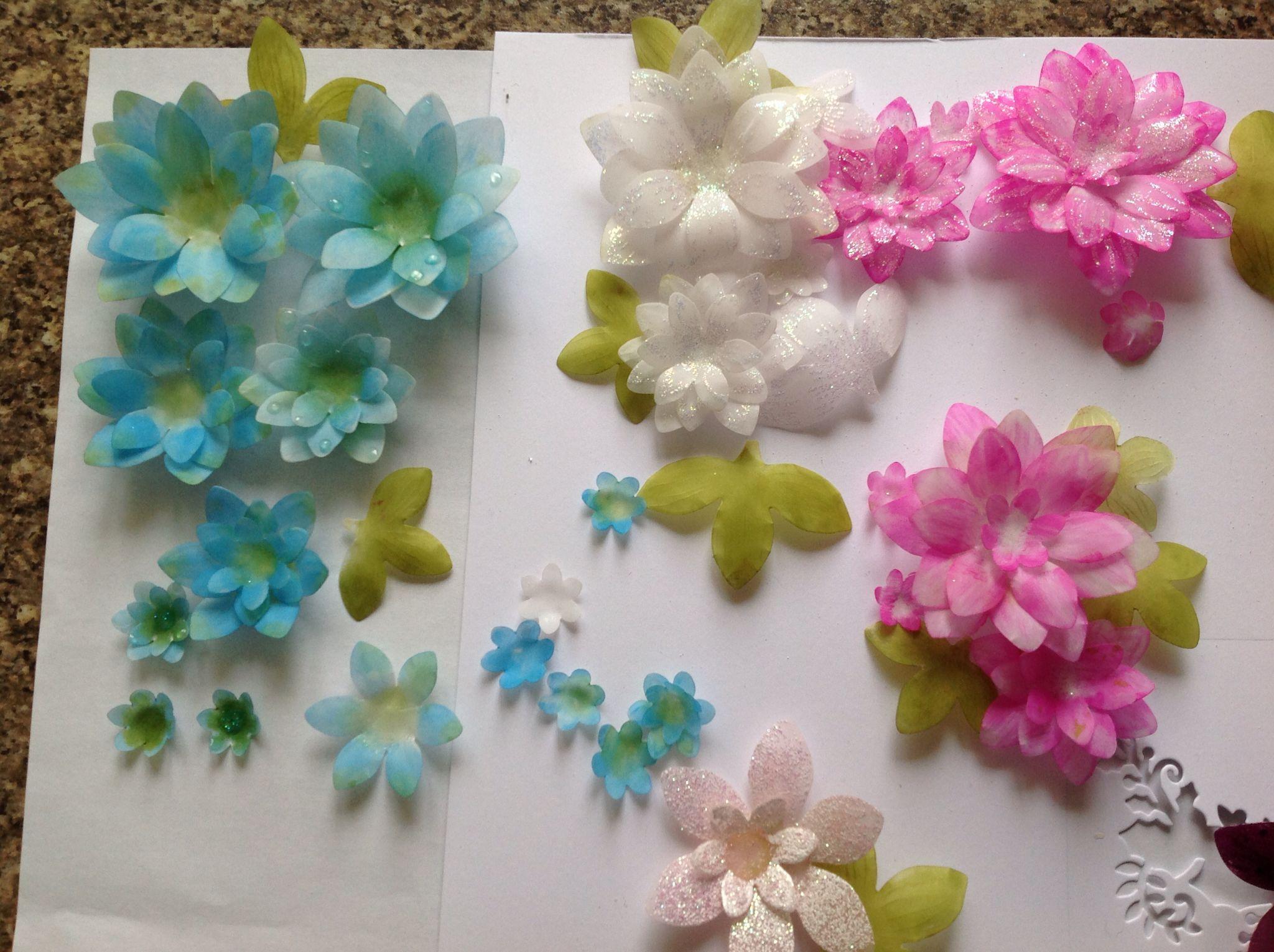Parchment Paper Flowers Jackie Taylor Pinterest Parchment Paper