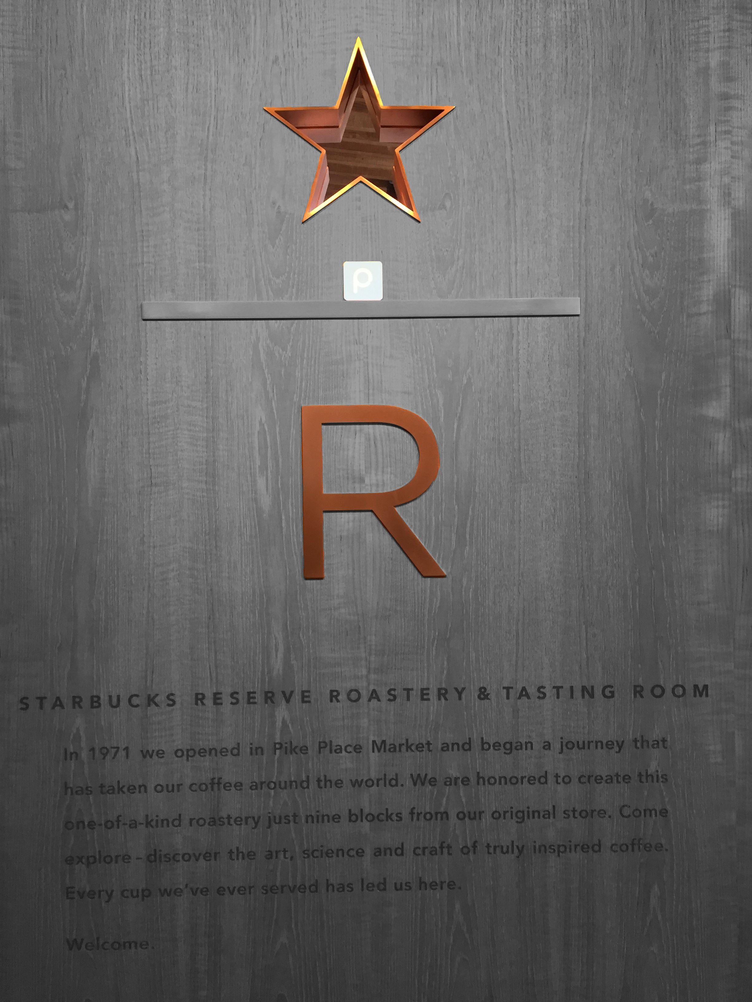 The Starbucks Reserve Roastery Tasting Room Love